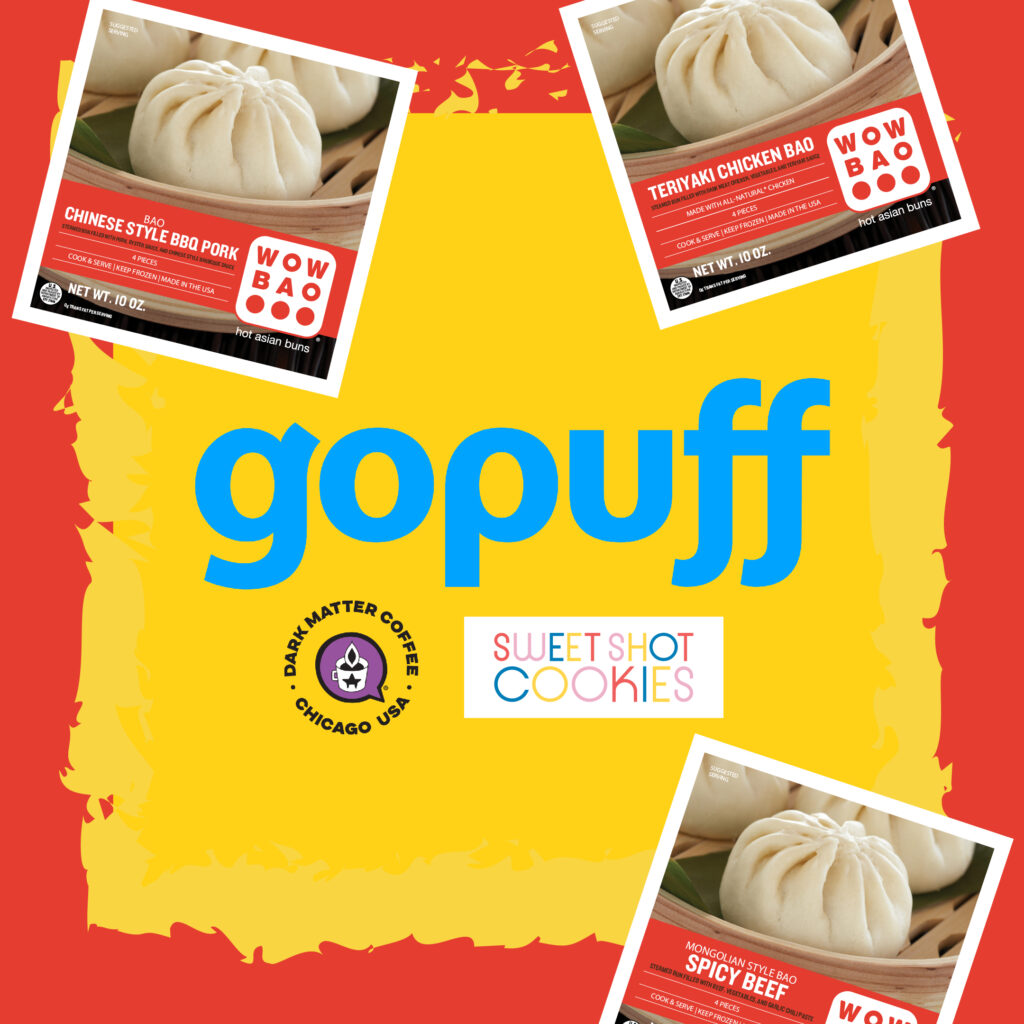 Gopuff prize pack giveaway contest featuring Sweet Shot Cookies + Dark Matter Coffee!
